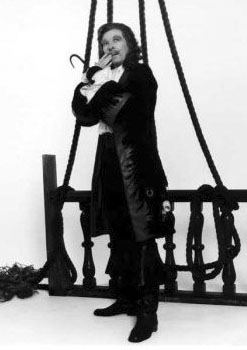 Danny Kaye as Captain Hook