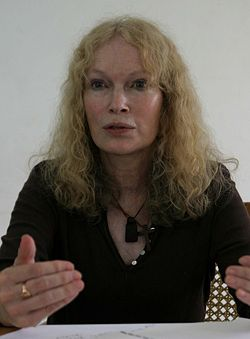 Mia Farrow, May 2008