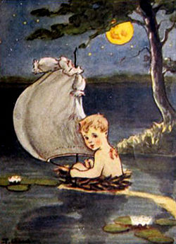 All About Peter Pan, ill. by Thelma Gooch (1924)