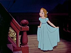Wendy Darling as portrayed in Disney's Peter Pan