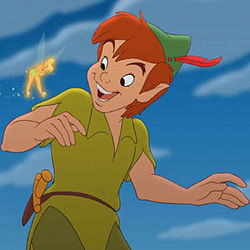 Peter Pan based on Bobby Driscoll