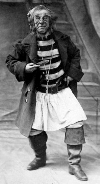 George Shelton as Smee in 1904