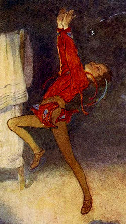 Peter Pan, as illustrated by Alice B. Woodward