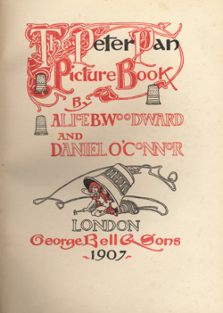 title page of The Peter Pan Picture Book