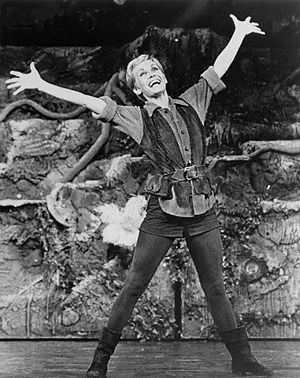 Sandy Duncan as Peter Pan
