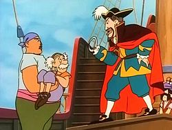 Captain Hook and crew