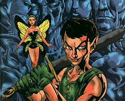 Peter Pan and the Warlords of Oz, ill. by Rob Hand (1998)