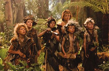 Curly, Tootles, Slightly, Nibs, and the Twins in the 2003 film