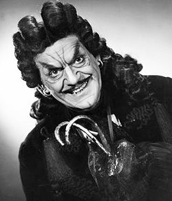 Boris Karloff as Captain Hook