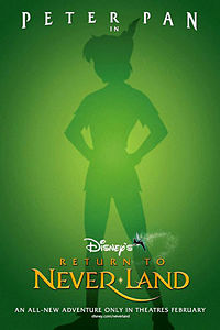 Promotional poster for Return to Never Land.