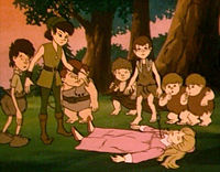 in the 1988 animated adaptation
