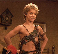 Jeremy Sumpter as Peter Pan in the 2003 film