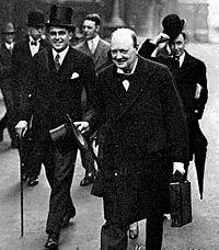 Boothby with Churchill in 1928